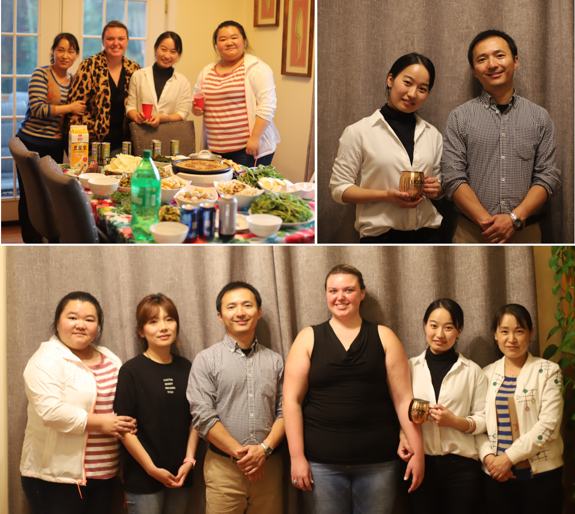 Farewell party for Wusigale